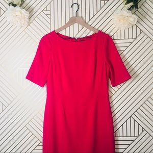 Ann Taylor   Pink Shift Dress